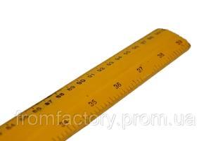Линейка портняжная деревянная 3.5 см ширина (1м)