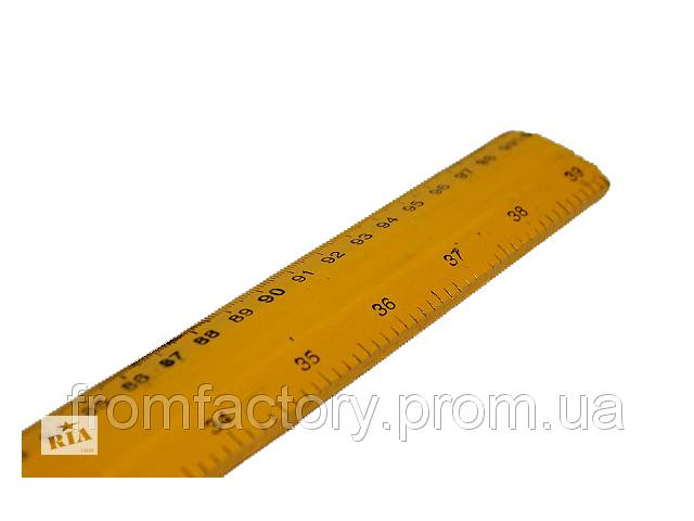 купить бу Линейка портняжная деревянная 3.5 см ширина (1м) в Харькове