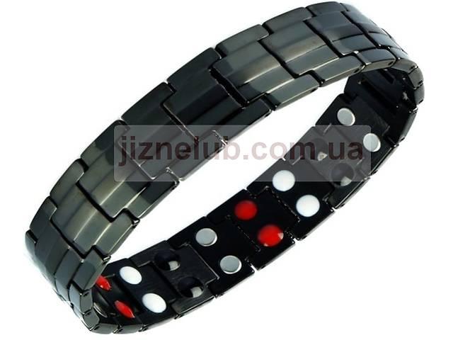Магнитный браслет с турмалином и германием- объявление о продаже   в Украине