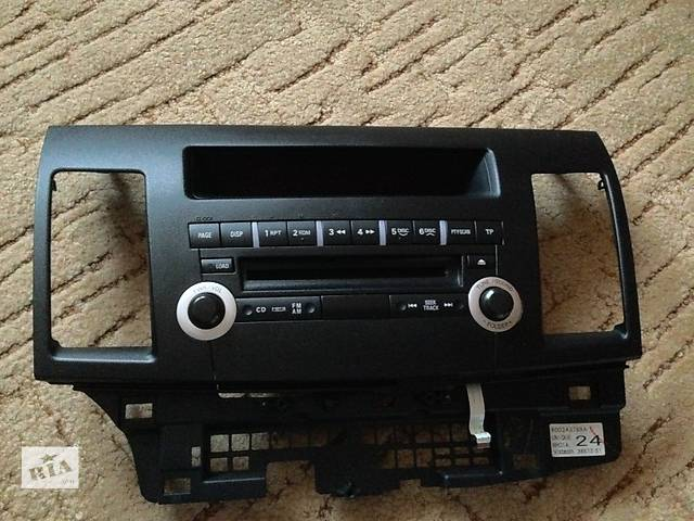 продам Магнитола 6CD/MP3 для MITSUBISHI Lancer X 2007+ (MITSUBISHI 8701A278) + лицевая панель бу в Чернигове
