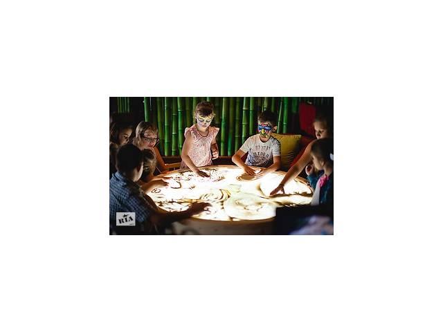 Рисование песком для детей, заказать мастер класс песком в Виннице и Винницком районе- объявление о продаже  в Винницкой области