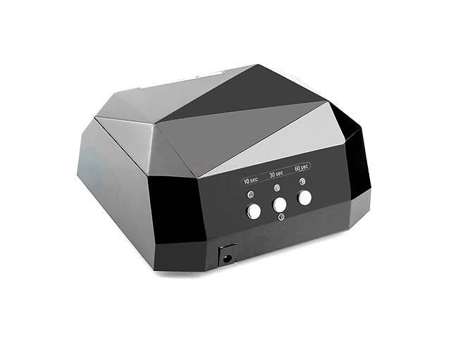 Лампа для наращивания ногтей Lamp Diamond 36W LED+CCFL Черный
