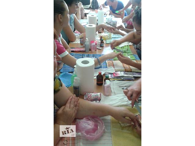 продам Мастер маникюра, педикюра, наращивания и дизайна ногтей. Экспресс-курс бу в Сумской области