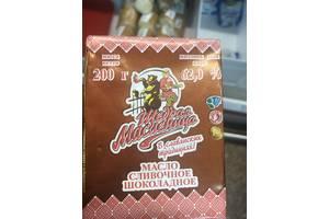 Масло Шоколадное с массовой долей жира 62,0% фас. 200 гр.Страна производства:Беларусь