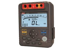 Мегаомметр UNI-T UT512 (от 0,5 МОм до 100 000 МОм; от 500 до 2500 В)