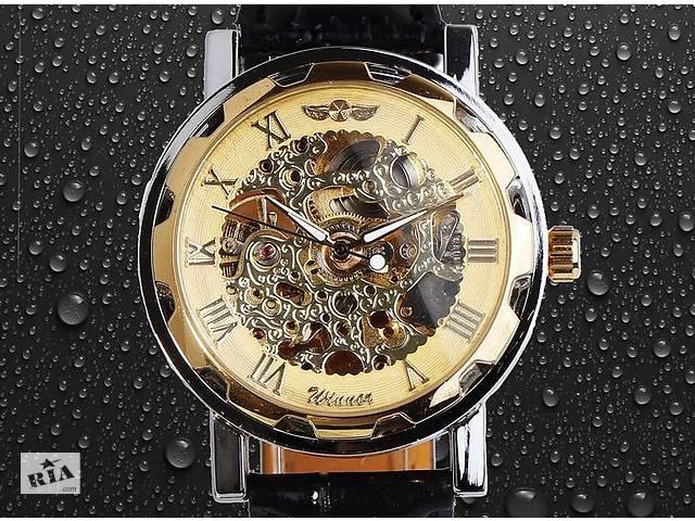 Механические наручные часы SKELETON золото серебоо - Годинники в ... 3f9070a651f31