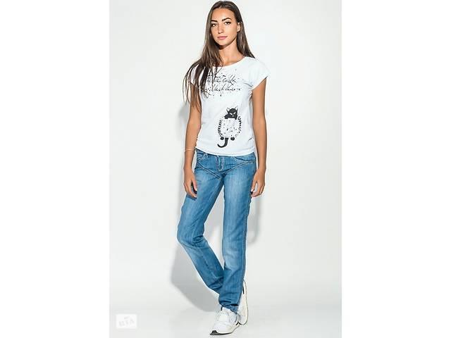 Джинсы женские с вышивкой на задних карманах 19PL124- объявление о продаже  в Одессе