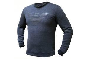 Мужской Батник. Реплика Giorgio Armani. Мужская одежда. Батник чёрный 50