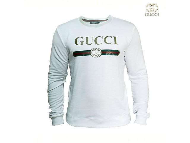 Мужской Cвитшот. Реплика Gucci. Мужская одежда- объявление о продаже  в Одессе