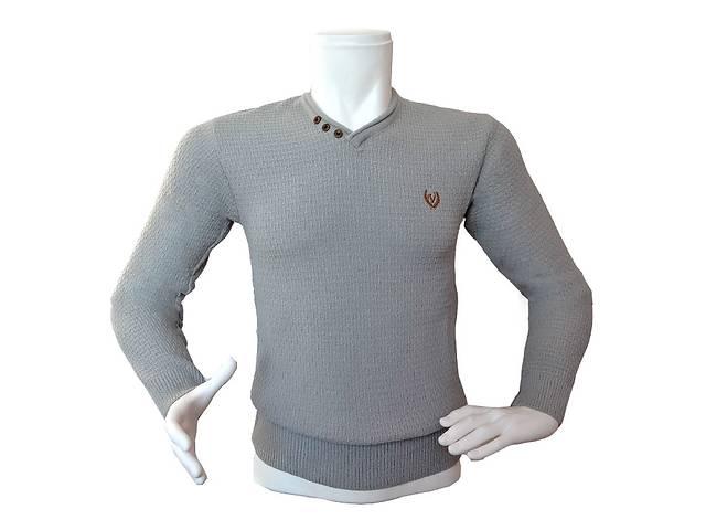 Чоловічий сірий светр - №2179 - Мужская одежда в Николаеве на RIA.com e031619b5ef0b