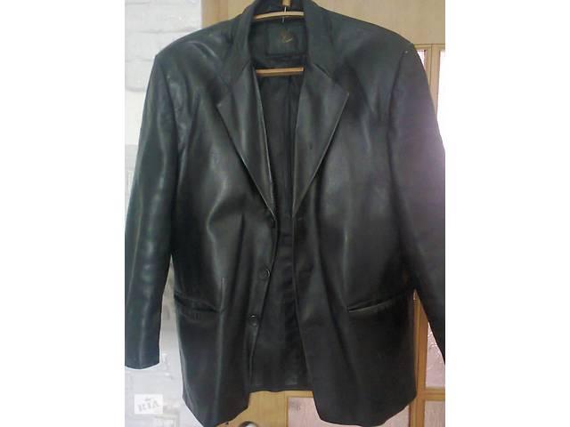 Продам шкіряний піджак- объявление о продаже  в Бурштині