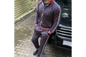 Новые Мужские спортивные костюмы Gucci