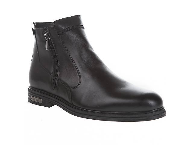 8a45c5a45b4e продам Ботинки мужские Ikoc (кожаные, черные, классические, стильные) 42 бу  в