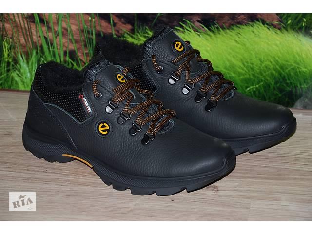 17d60b8fb купить бу Ботинки зима кожа натуральная М43 качество ecco размеры 40 41 42  43 44 45