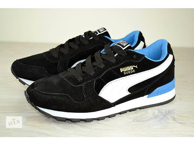 Кросівки Puma Suede чорні- объявление о продаже в Дніпрі (Дніпропетровськ) 5ae2441d56785