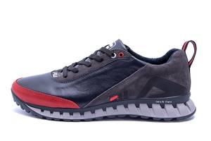 Мужские кожаные кроссовки FILA Tech Flex Blue (реплика)