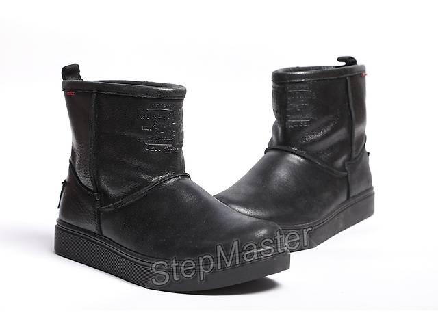 купить бу Мужские кожаные угги Levis winter black в Вознесенске