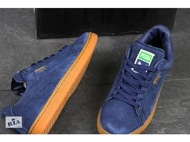 dd40b707cb3b продам Мужские кроссовки Puma Suede Blue   Black (70420 70440) бу в Киеве
