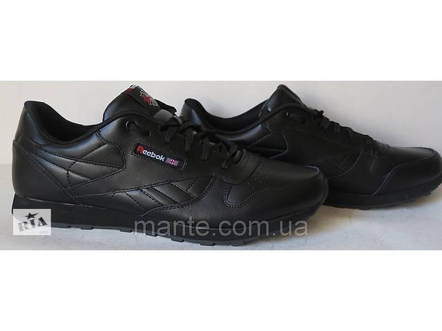 Reebok classik since 1983 мужские кроссовки 45 46 47 48 49 50 черные кожаные c5dfb5fa3fa81
