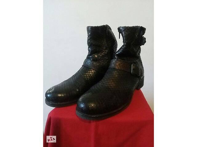 купить бу Стильні чоботи зі змії Annette Görtz в Дніпрі (Дніпропетровськ)