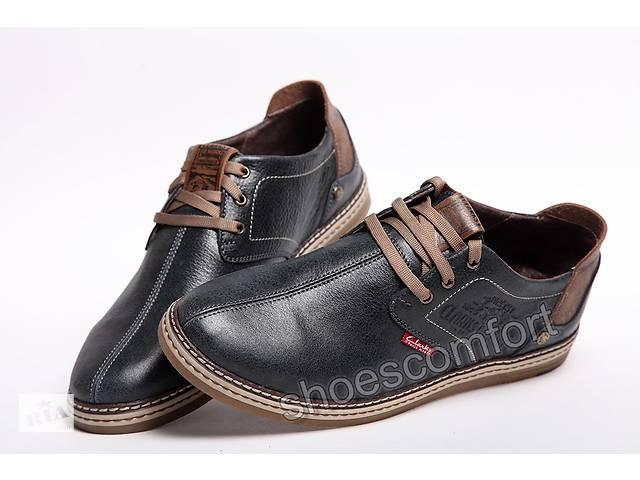 Туфли кожаные мужские C arks Desert Urban M - 43 Blue - Мужская ... 51dbb2f91bd