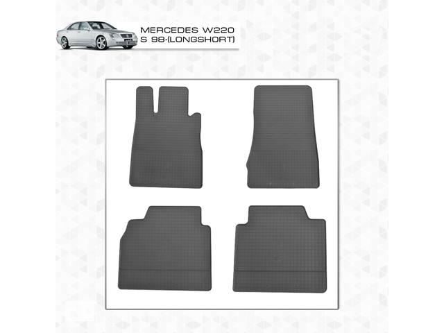 купить бу Mercedes S-klass W220 Резиновые коврики (4 шт, Stingray Premium) в Черновцах