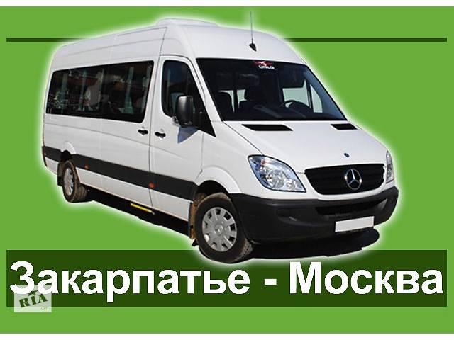 купить бу Международный автобусный рейс Закарпатье - Москва от Карпатэкспресс  в Украине