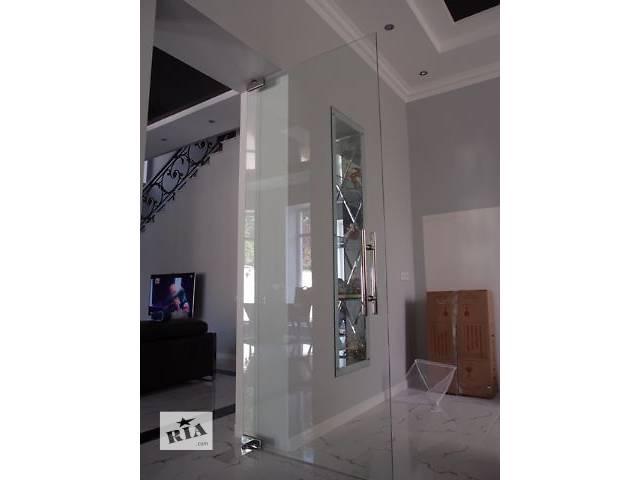 бу Межкомнатные стеклянные двери в Одессе