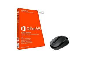 Microsoft Office365 Home Prem 32/64 Russian+мышка Microsoft Wireless Mobile Mouse 3500