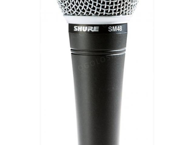 бу Мікрофон Shure SM48-LC Vocal Microphone в Тернополе