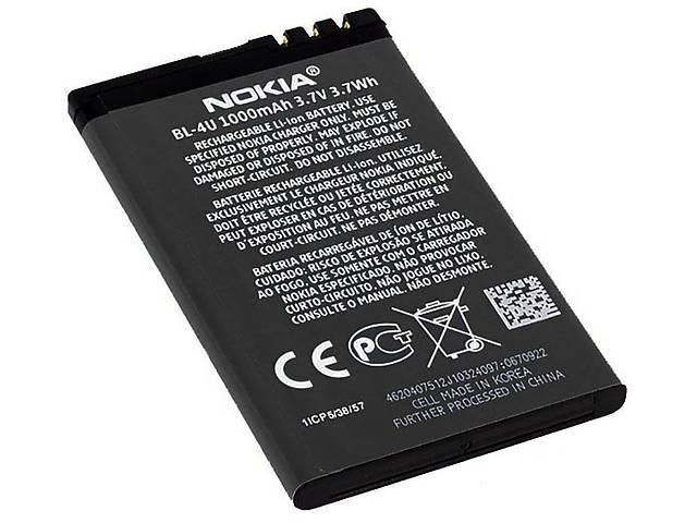бу Акумулятор батарея BL-4U Nokia 5250 5530 5730 6300 C5-03 E66 E75 / Asha 210 300 305 311 500 оригінал в Києві