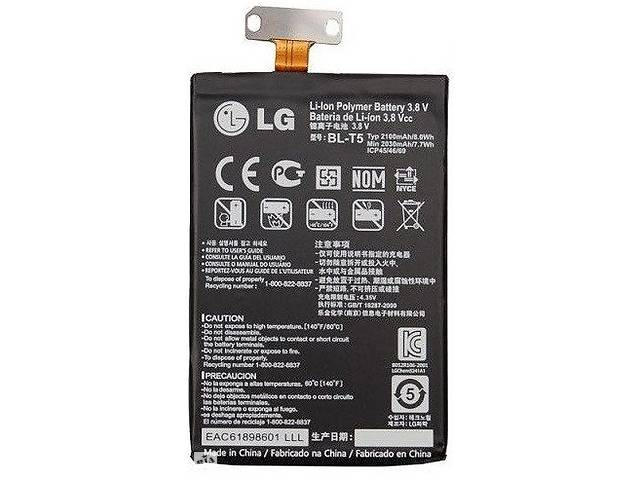 бу Акумулятор батарея BL-T5 для LG Nexus 4 E960 / Optimus G E970 E975 оригінальний в Києві
