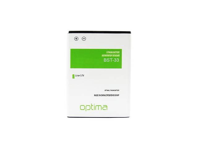 купить бу Аккумулятор Optima BST-33 для Sony Ericsson W950i 800 mAh (47000034509) в Києві