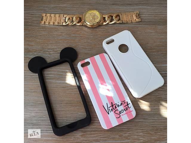 бу Чехол для iPhone 5/5s/SE чехлы на айфон 5 5с СЕ чохол пластик силикон в Запорожье
