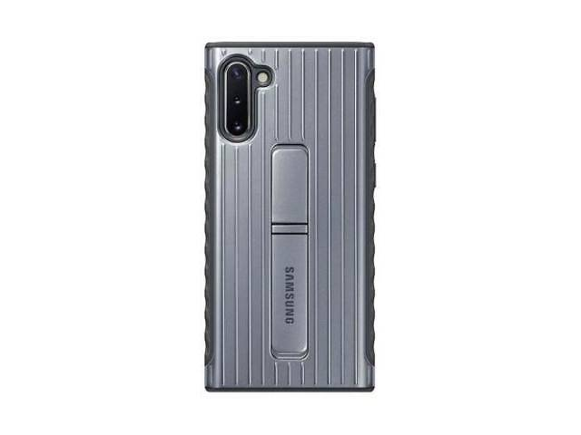 купить бу Чехол для моб. телефона Samsung Galaxy Note 10 (N970) Silver Protective Standing Cover (EF-RN970CSEG в Киеве