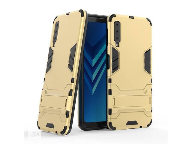продам Чехол для Samsung A750 / A7 2018 Hybrid Armored Case золотой бу в Києві