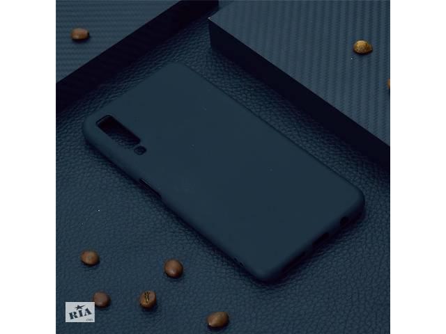 купить бу Чехол для Samsung A750 / A7 2018 силикон soft touch бампер черный в Києві