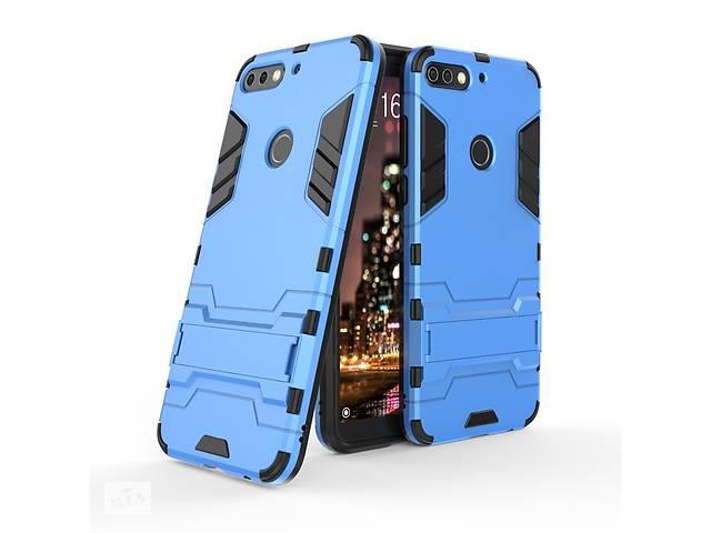 бу Чехол Huawei Y7 2018 / Y7 Prime 2018 / Honor 7C / Honor 7C Pro Hybrid Armored Case голубой в Києві