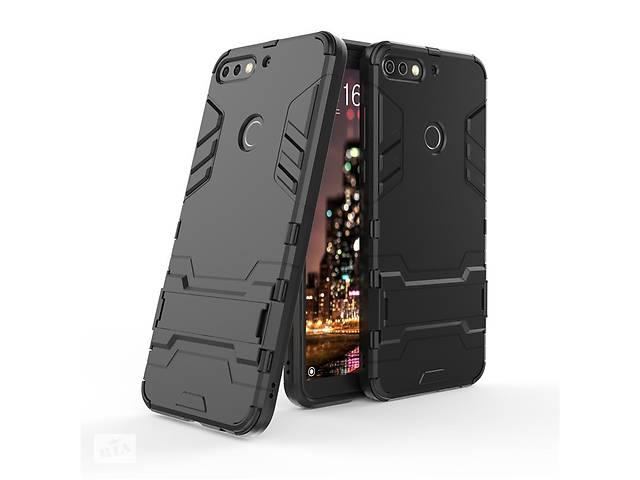 бу Чехол Huawei Y7 2018 / Y7 Prime 2018 / Honor 7C / Honor 7C Pro Hybrid Armored Case черный в Києві