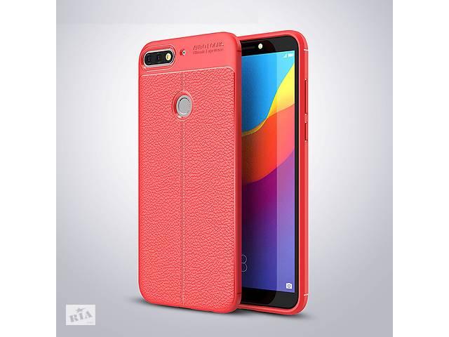 Чехол Huawei Y7 2018 / Y7 Prime 2018 / Honor 7C / Honor 7C Pro силикон Original Auto Focus Soft Touch красный- объявление о продаже  в Києві