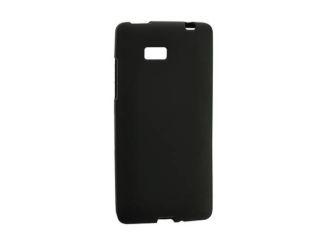 купить бу Чехол Silicon Case для HTC Desire 601 Black (00000026667) в Киеве