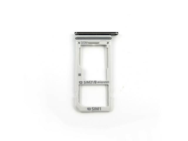 бу Держатель sim карт Dual Sim + MicroSD на Samsung A520F G930 N950 N930 Original в Харькове
