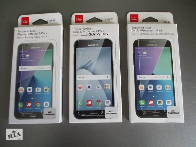 Фирменное защитное стекло для Samsung Galaxy J3 2016 J320 J3V ; J3 J327 2017 ; J7 V J727 2017 ; J7 J700 2015 ; J5 J500- объявление о продаже  в Ровно