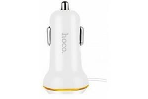 Hoco Z14 (1USB, 3.4A) White (Код товара:10212)
