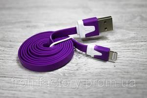 Кабель Lightning/USB (1м, разные цвета):Фиолетовый