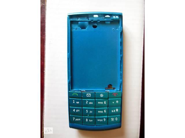 Корпус Nokia X3-02 (синий)- объявление о продаже  в Угледаре