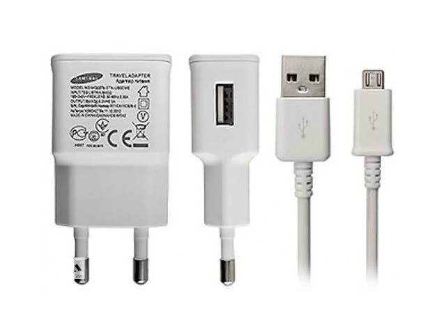 Мережевий зарядний пристрій зарядка Samsung (S) 2 в 1 Micro USB для Samsung Galaxy S7 G930- объявление о продаже   в Україні