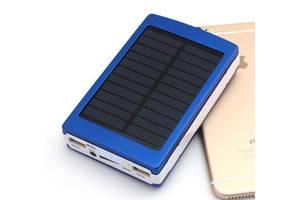 Солнечное зарядное устройство Solar Power Bank 40000 mAh+Led, портативная зарядка от солнца