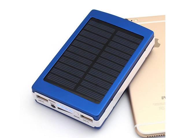 бу Солнечное зарядное устройство Solar Power Bank 40000 mAh+Led, портативная зарядка от солнца в Киеве