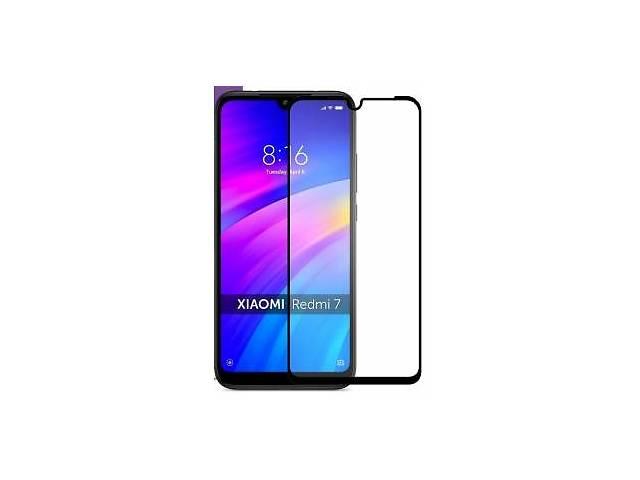продам Защитное стекло Xiaomi Redmi 7 Black Premium (Код товара:10298) бу в Харькове